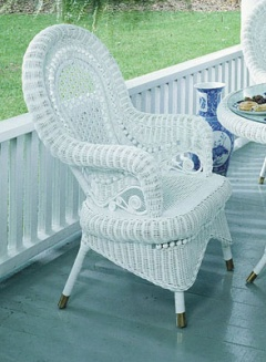 Victorian Wicker Chair