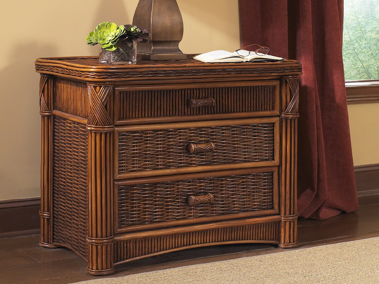 Wicker Chest Of Drawers Furniture Roselawnlutheran