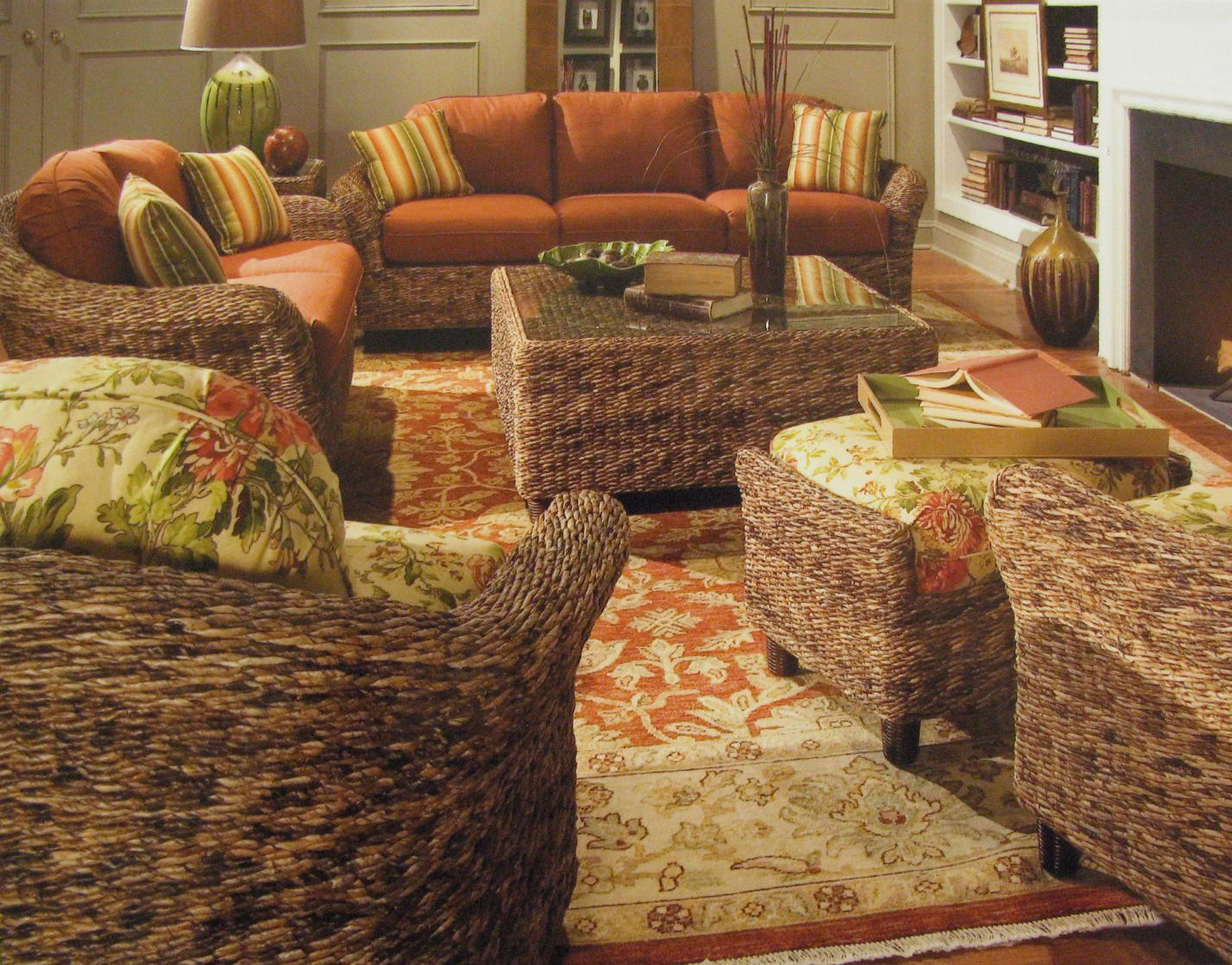 Sunroom Furniture for Your Home Indoor Wicker and Rattan