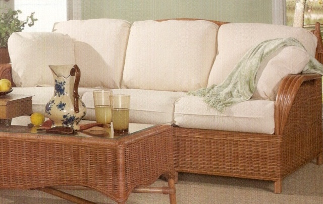 Rattan Sleeper Sofa Siesta Key