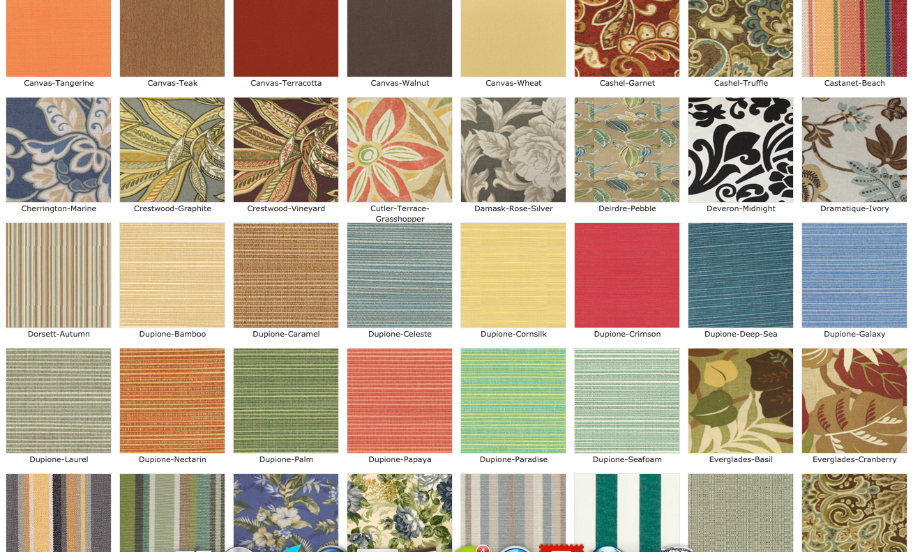 Fabrics Fabric Collections Wicker Paradise