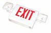 Emergency Exit Sign Combination