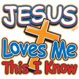 Jesus Loves Me - Cross