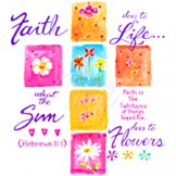 Faith Life Sun Flowers