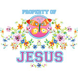 Property Of Jesus - Butterfly