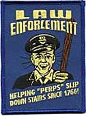 LAW ENFORCEMENT - EMBROIDERED PATCH