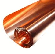 "12"" X 50'/ 5 Mil (36 ga.) Copper Sheet"