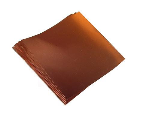 "6"" X 6""/ 16 Mil (26 ga.) Copper Sheets (2)"