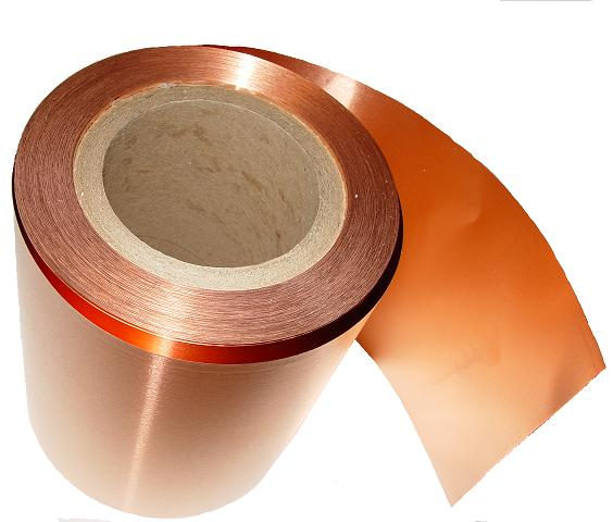 "6"" X 66 ' / 16 mil/ 25 lbs Copper Roll"