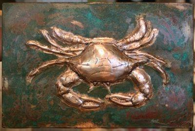 Crab Repousse by Frank McDonald