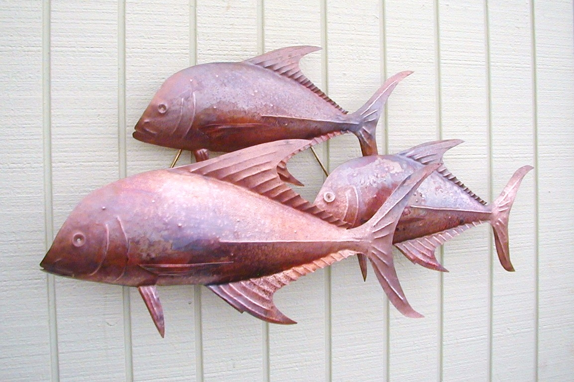 Copper Sculpture- By Gary Anthony of Hawaii