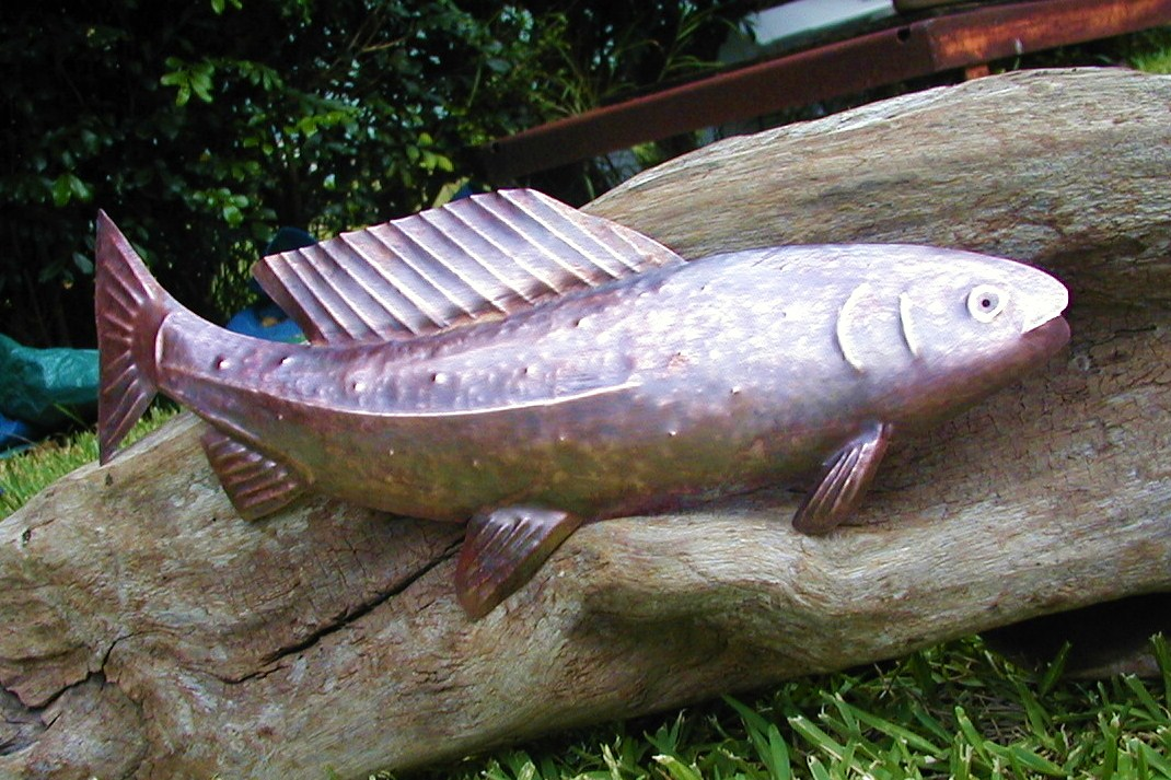 Copper Sculpture- by Gary Anthony of Kauai, Hawaii