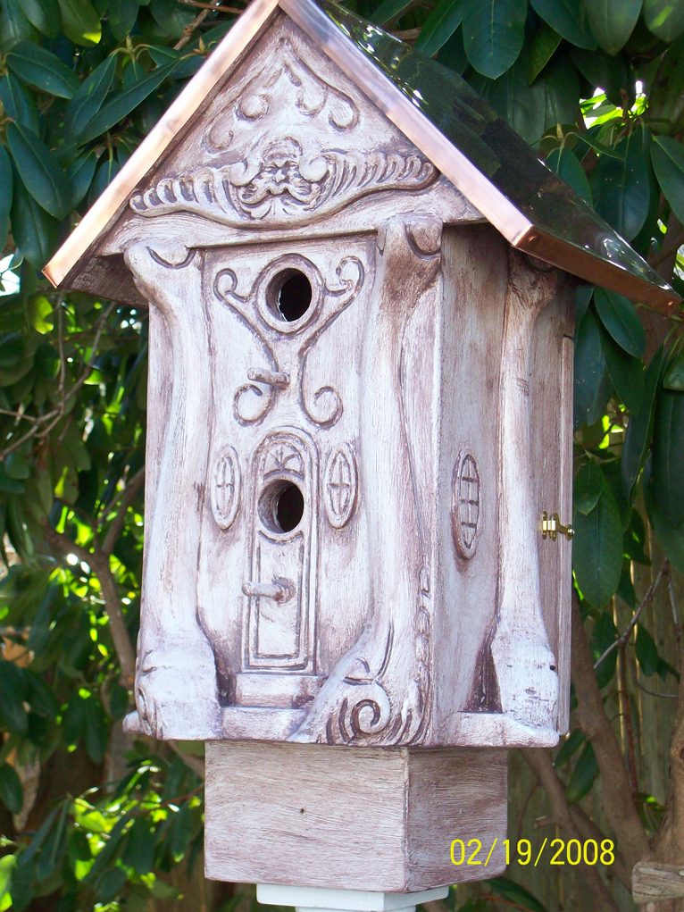 Birdhouse With Copper Roofs By Jack Pattison