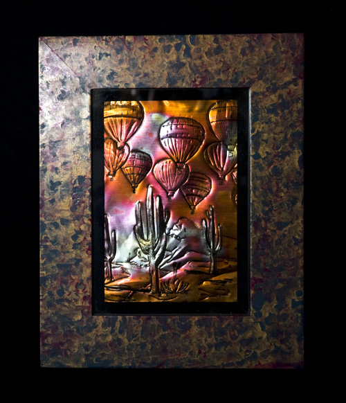 Copper Repousse- by Annie O'Neil