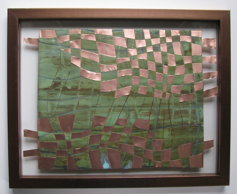 Woven Copper Tapestries- by Richard Hill