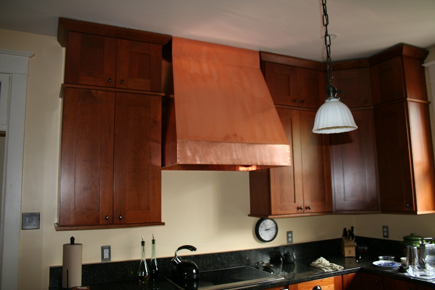 Copper Range Hood  By Eric Rosenfeld