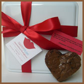 Heart Brownie Tin