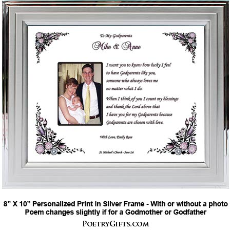Personalized Gifts for Godparents