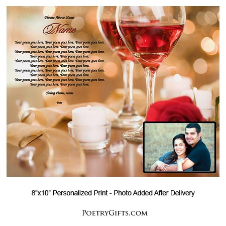 send a romantic gift your poem