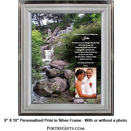 gifts for husband or wife item 02 791 006 wedding gift personalized ...