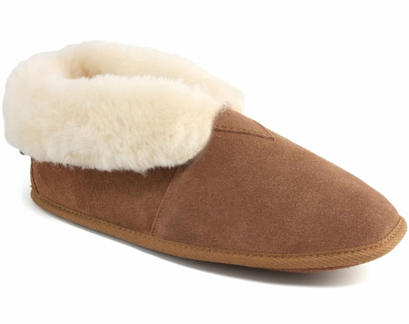 Cloud Nine Sheepskin Soft Sole Booties - Women's Slippers