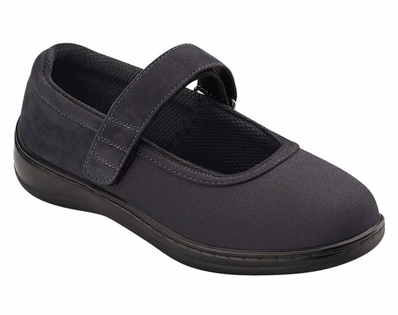 Orthofeet Springfield Women's Stretchable & Washable Mary Jane
