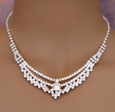 MONACO RHINESTONE NECKLACE SET