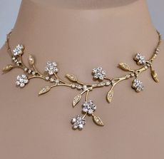 FANTASY GOLD RHINESTONE SET - TEMP SOLD OUT