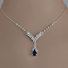 DIANE'S DAZZLE DARKEST BLUE RHINESTONE SET - SOLD OUT