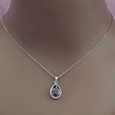 TRAILING TEARDROP ZIRCONIUM SET