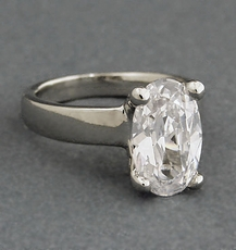 ALL DAY FABULOUS CZ CUBIC ZIRCONIA RING - size 6, size 7, size 8
