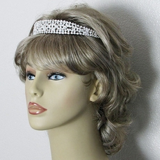 BEAUTY MARK RHINESTONE BRIDAL HEADBAND