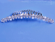 PEARLETTI RHINESTONE WEDDING HAIRCOMB
