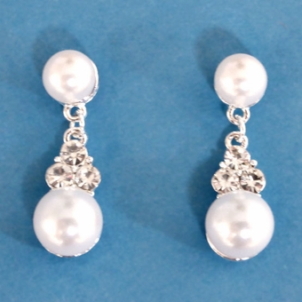 PAIR OF PEARLS EARRINGS