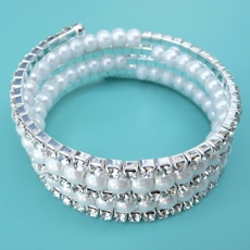 DUCHESS PEARL WRAP-AROUND WEDDING BRACELET - TEMP SOLD OUT