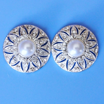 PEARL SPINNER BRIDAL EARRINGS