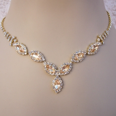 ROSANTI LIGHT TOPAZ <BR>RHINESTONE JEWELRY SET- SOLD OUT