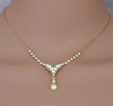 BELLA GOLD NECKLACE AND EARRINGS SET - ONLY FOUR SETS REMAINING