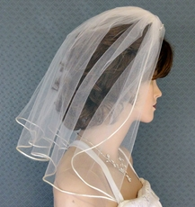 LITTLE PRINCESS WEDDING VEIL -ONE WHITE REMAINING