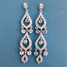 LADY GODIVA CHANDELIER EARRINGS