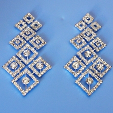COSMO RHINESTONE EARRINGS