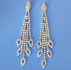 SHEER BRILLIANCE CRYSTAL EARRINGS