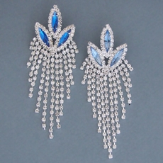 RIO RHINESTONE CHANDELIER EARRINGS