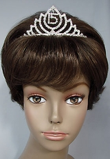 MY DAY RHINESTONE TIARA*<BR>ONLY ONE REMAINING