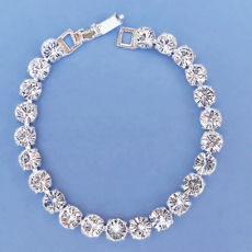 LUXURY RHINESTONE CLEAR BRACELET - SOLD OUT