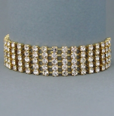 FABULOUS FIVE GOLD BRACELET<BR>ONE REMAINING*