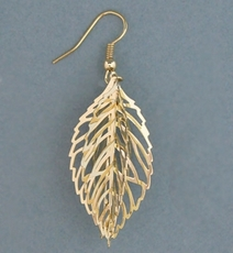 CATCHING GOLD EARRINGS - ONE PAIR REMAINING