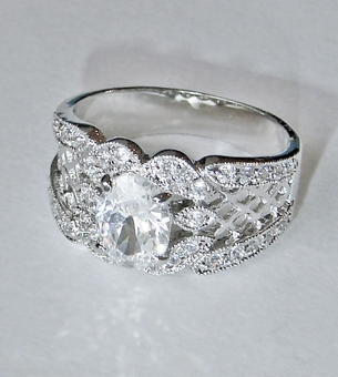 MIMOSA CZ RING<br>size 6