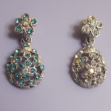 DELICIOUS RHINESTONE EARRINGS