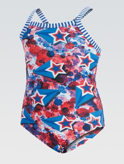 2019 Little Dolfin Liberty One-Piece Swimsuit